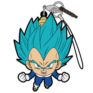 Dragon Ball Super Vegeta Blue Pinched Strap