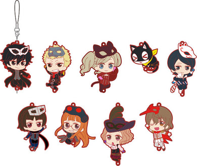 PERSONA 5 the Animation Rubber Strap Collection Blind Box