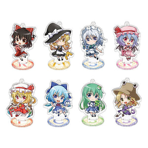 Touhou Project Acrylic Keychain w/Stand Collection