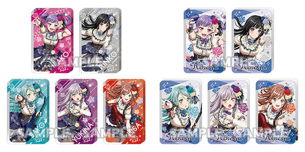 BanG Dream! Girls Band Party! Chararium RICH Acrylic Keychain Roselia