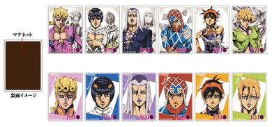Acrylic Magnet JoJo's Bizarre Adventure Golden Wind Bucciarati's Team Blind Box