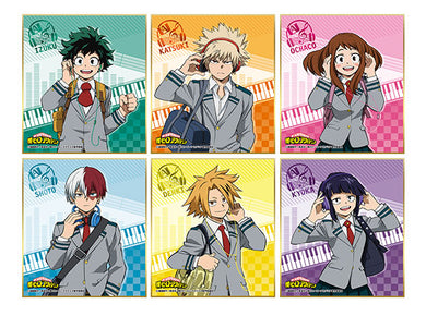 My Hero Academia Mini Shikishi Collection Music