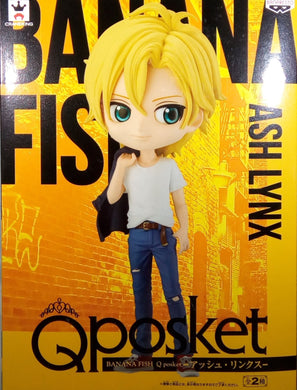 Ash Lynx - Version A - Banana Fish Q Posket - Banpresto