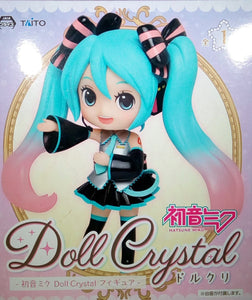 "Taito 5.5"" Hatsune Miku Doll Crystal Action Figure"