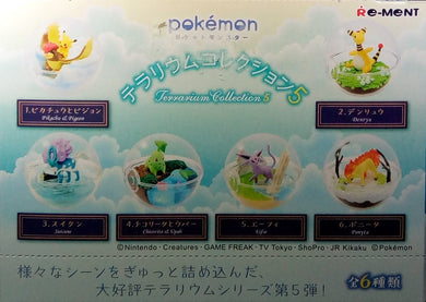 Pokemon Terrarium Collection 5 Pack