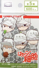 Cells at Work! Trading Acrylic Keychain White Blood Cell Darake Collection
