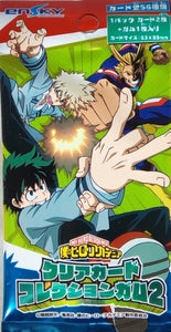 My Hero Academia Clear Card Collection 2 -Pack
