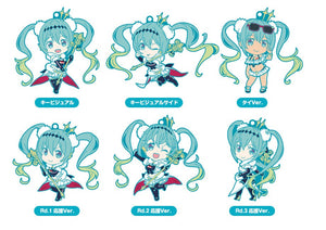 Racing Miku 2018 Ver. Nendoroid Plus  Collectible Rubber Keychains