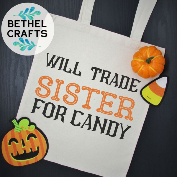 Autism Awareness Halloween Candy Bag