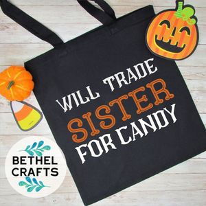 Black Cat Candy Bag for Halloween