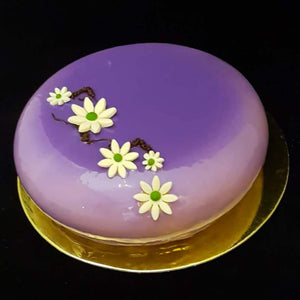 Earl Grey Blackcurrant Cake