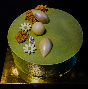 Matcha White Chocolate Torte
