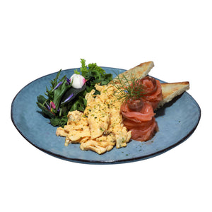 Smoked Salmon Scrambled Egg