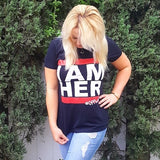 Blogger, Britt Nicole wearing i am her