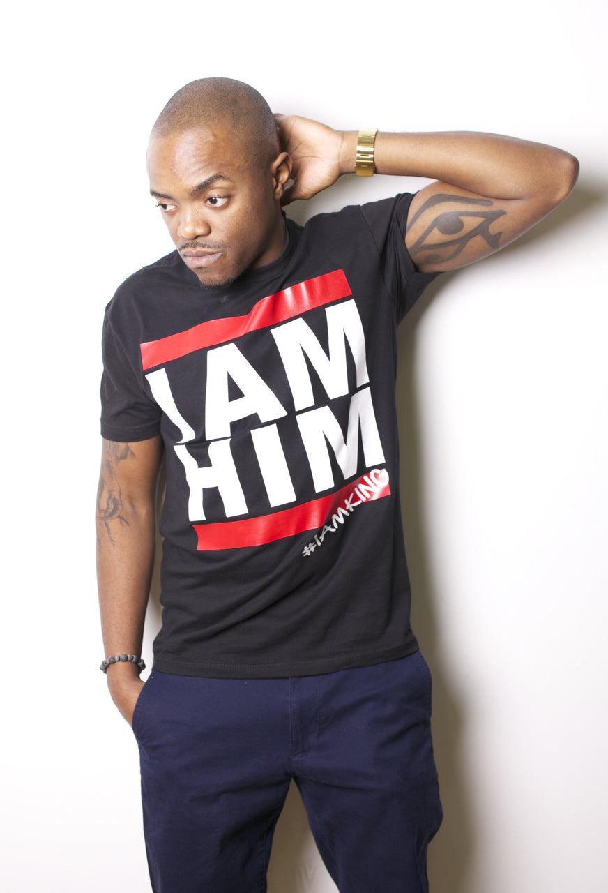 I AM HIM/ I AM King Men's DMC Inspired Statement Tee