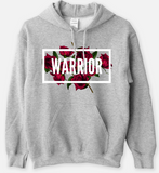WARRIOR - Statement Women's Hooded Sweatshirt - I AM HER Apparel, LLC