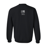 I AM HER Signature Women's Crewneck Sweater - Black - I AM HER Apparel, LLC