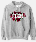 BLESSED - Statement Women's Hooded Sweatshirt - I AM HER Apparel, LLC