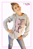 I AM HER – Girls Long Sleeve - I AM HER Apparel