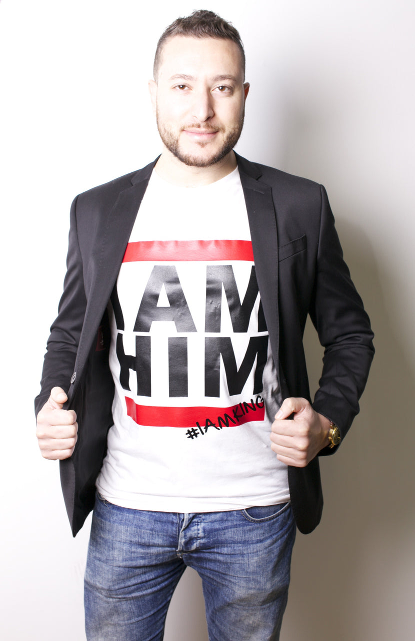 I AM HIM X I AM KING – Casual T Shirts for Men - I AM HER Apparel, LLC