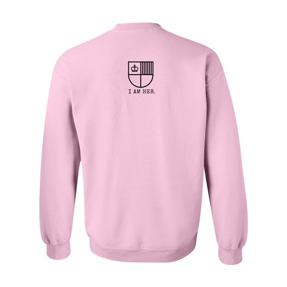 I AM HER Signature Women's Crewneck Sweater - I AM HER Apparel, LLC