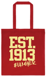 Delta Sigma Theta Inspired EST.1913 - Canvas Tote Bag - I AM HER Apparel, LLC