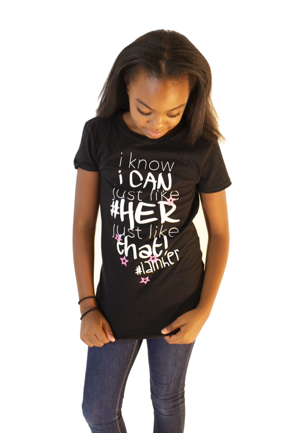 I Know I Can – Tees for Girls - I AM HER Apparel, LLC