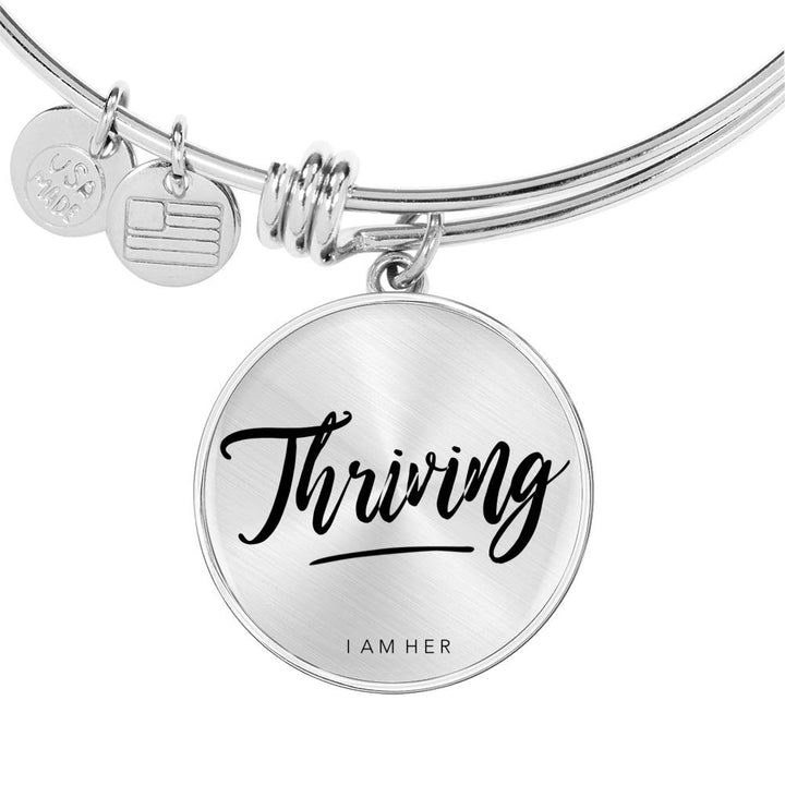Thriving - Statement Bangle Bracelet