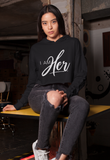 I AM HER Signature Cropped Fleece Hoodie - I AM HER Apparel, LLC