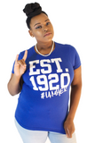 Zeta Phi Beta Inspired - EST. 1920 - Tees for Women - I AM HER Apparel, LLC