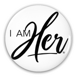 Milk Chocolate Brown Girl - Button 5 Pack Set - I AM HER Apparel, LLC