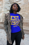 Sigma Gamma Rho Inspired - EST. 1922 - Tees for Women - I AM HER Apparel, LLC