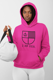 I AM HER Shield Women's Hooded Sweatshirt - I AM HER Apparel