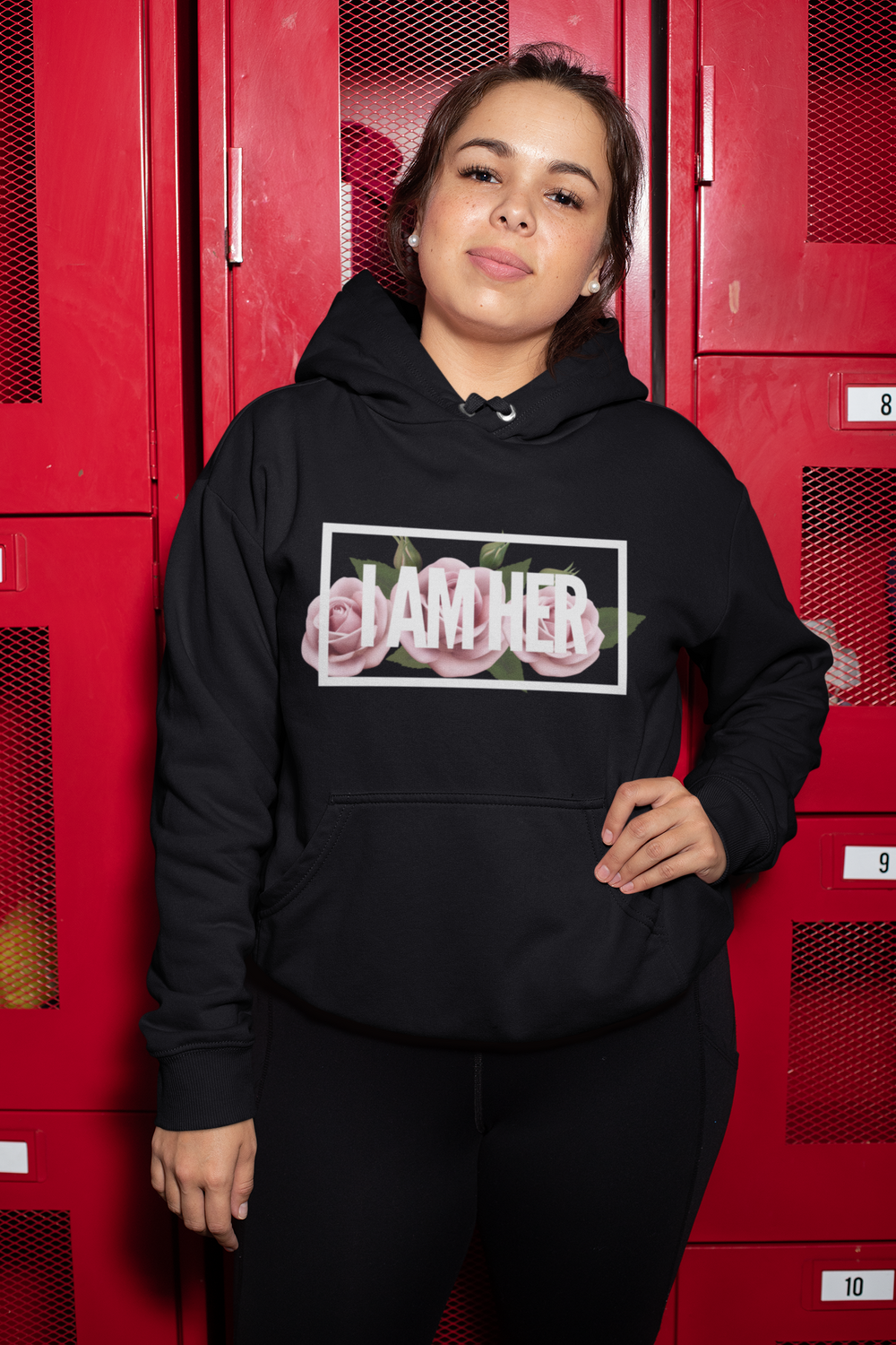 WARRIOR - Women's Hooded Sweatshirt
