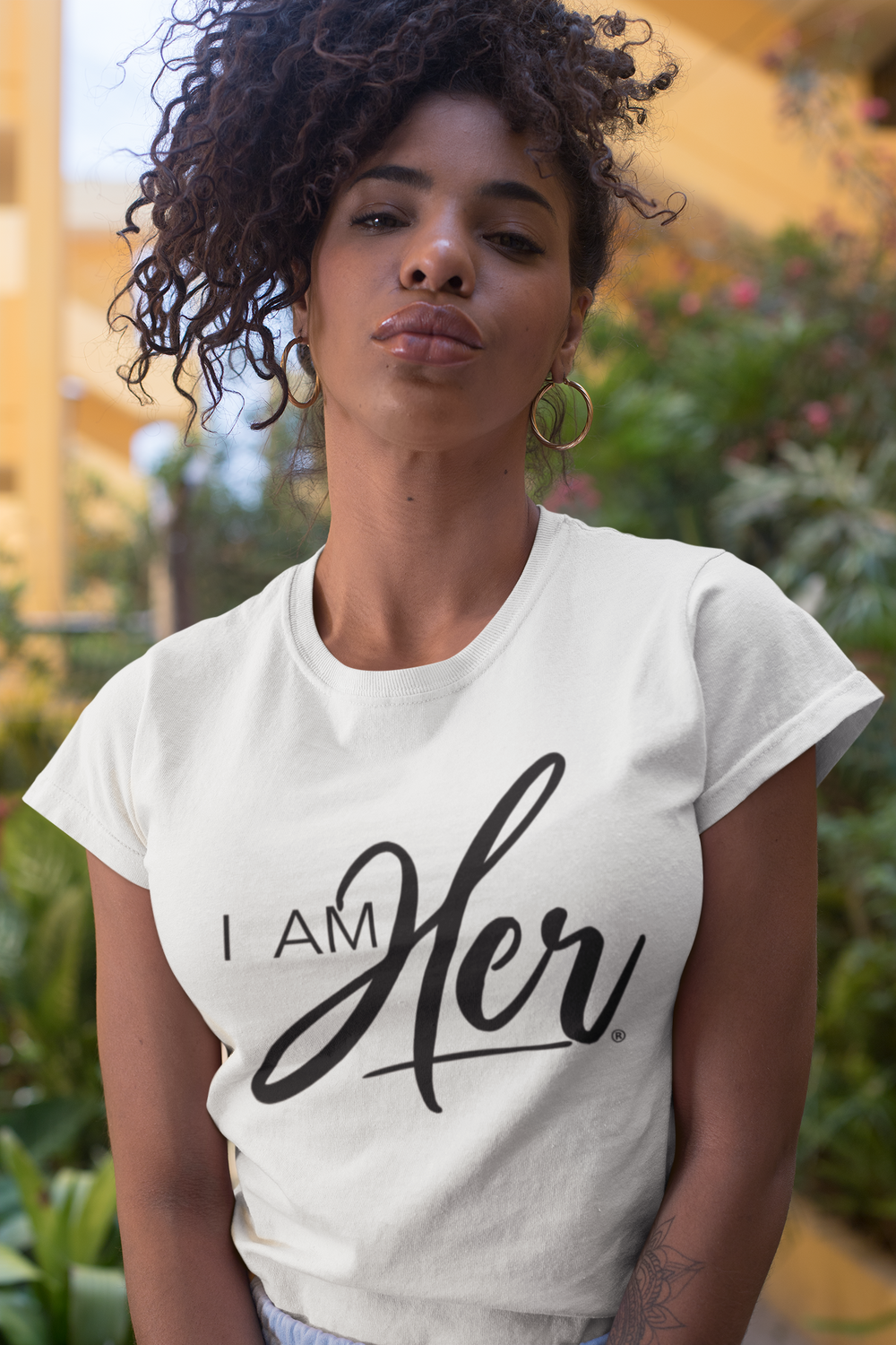 I AM HER Signature Women's Tee - I AM HER Apparel, LLC