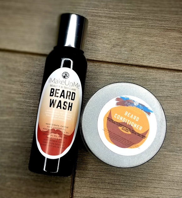 Beard Wash and Conditioner Kit (Trial Size)