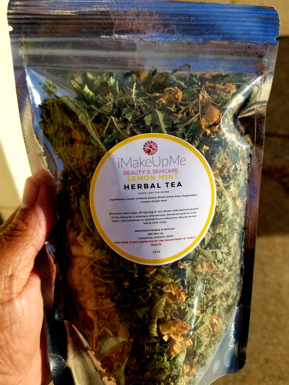 Lemon Mint Herbal Tea
