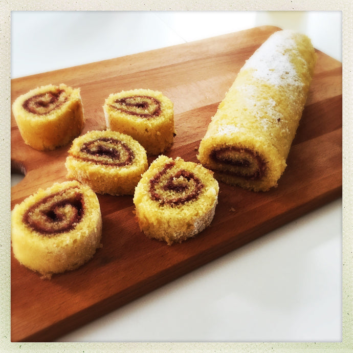 Gluten Free Swiss Roll