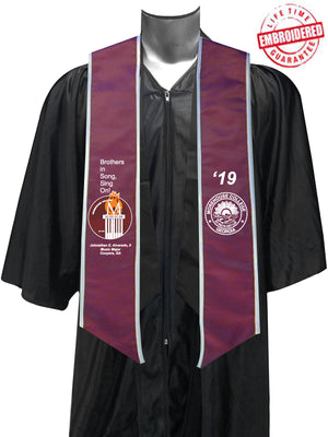 Morehouse College Glee Club Graduation Stole