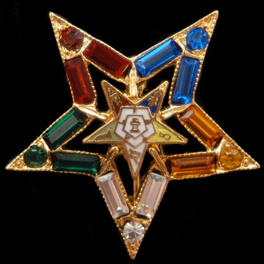 Crystal Lapel Pin