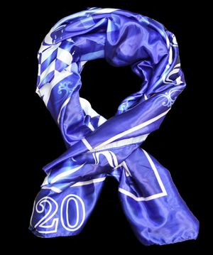 Greek Themed Fancy Scarf