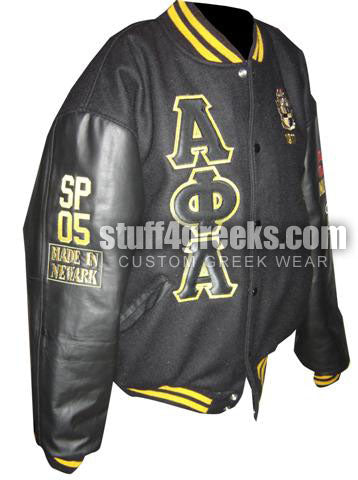 Custom Greek Varsity Letterman Jacket