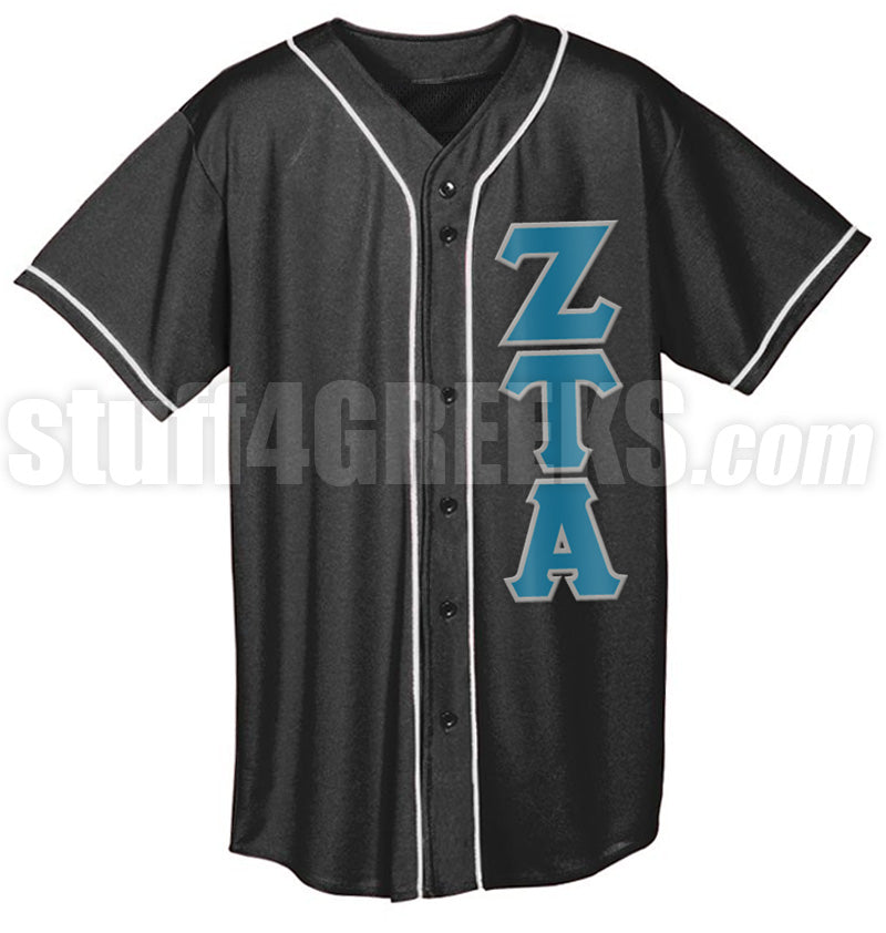 Custom Greek Mesh Baseball Jersey