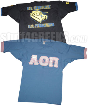 Custom Greek Crossing Jersey- Fraternity and Sorority Line Jersey