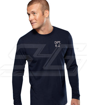 Custom Athletic Performance Screen Printed T-Shirt (Men's Long Sleeve)
