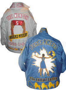 Deluxe Crossing Jacket: Includes Front, Sleeves, Collar, Back, Artwork on Back and Bottom Icons