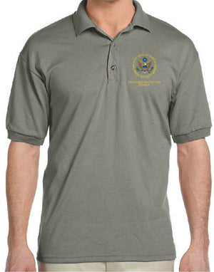 Diplomatic Security Service DSS Uniformed Protection Division, Embroidered Short-Sleeve Polo SS-G8800