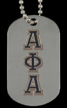 Greek Dog Tags