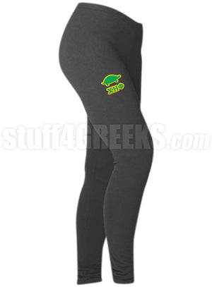 Custom Screen Printed Athletic Leggings with Icon (BC)