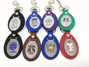 Leather Fob Key Chains